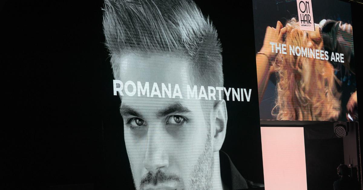 Roma Martyniv finalista Best Man On Hair Bologna 2017