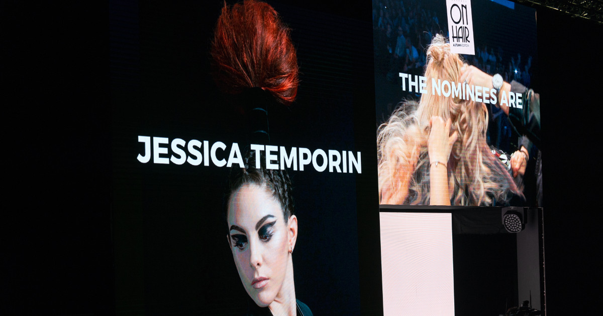Temporin Jessica finalista Best Young On Hair Bologna 2017